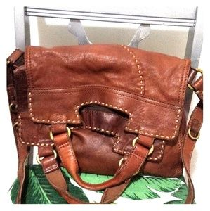 Lucky brand Jean's leather bag